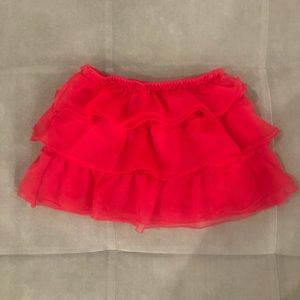 Faded Glory Ruffle Skirt